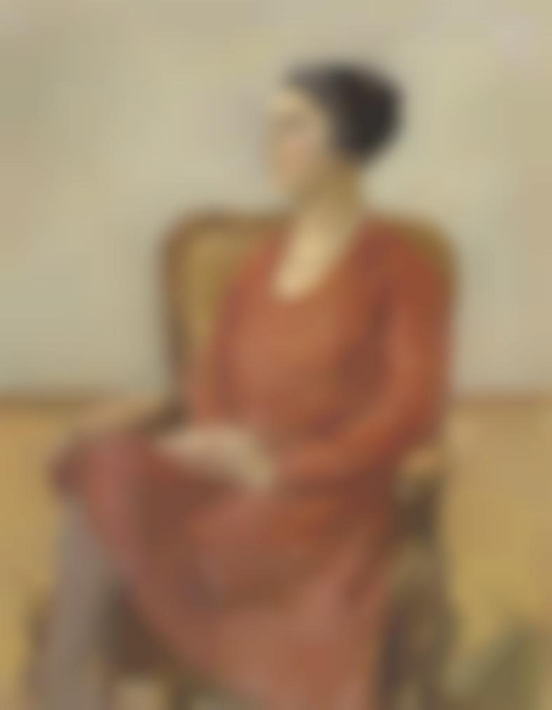 Max Liebermann-Bildnis Olga Neuberg-1928