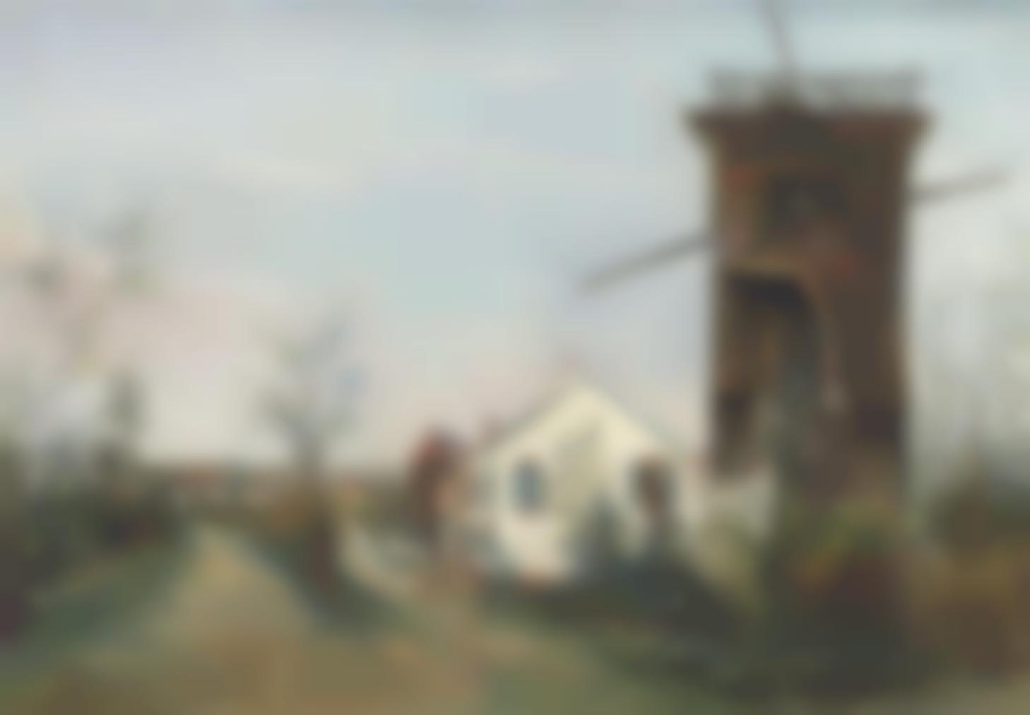 Maurice Utrillo-Le Vieux Moulin A Sannois (Val-Doise)-1918