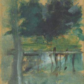 Henri de Toulouse-Lautrec-Malrome; Sous-Bois-1883