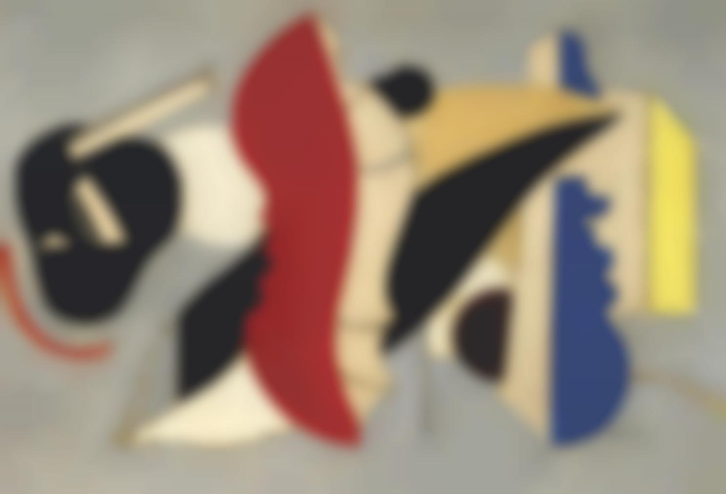 Fernand Leger-Coquillage Rouge-1928