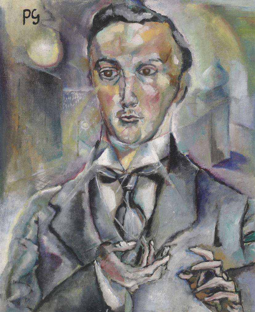 Albert Paris Von Gutersloh - Bildnis Felix Albrecht Harta-1912