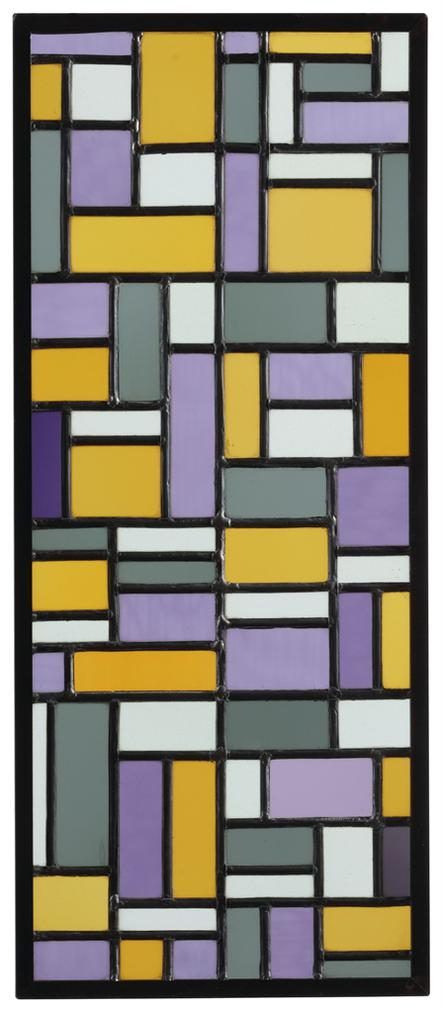 Theo van Doesburg-Stained-Glass Composition Viii-1919