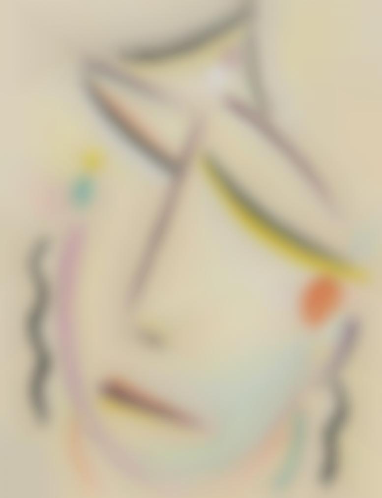 Alexej von Jawlensky-Abstrakter Kopf: Sonnig Beschwingt (Abstract Head: Sunny Elated)-1922