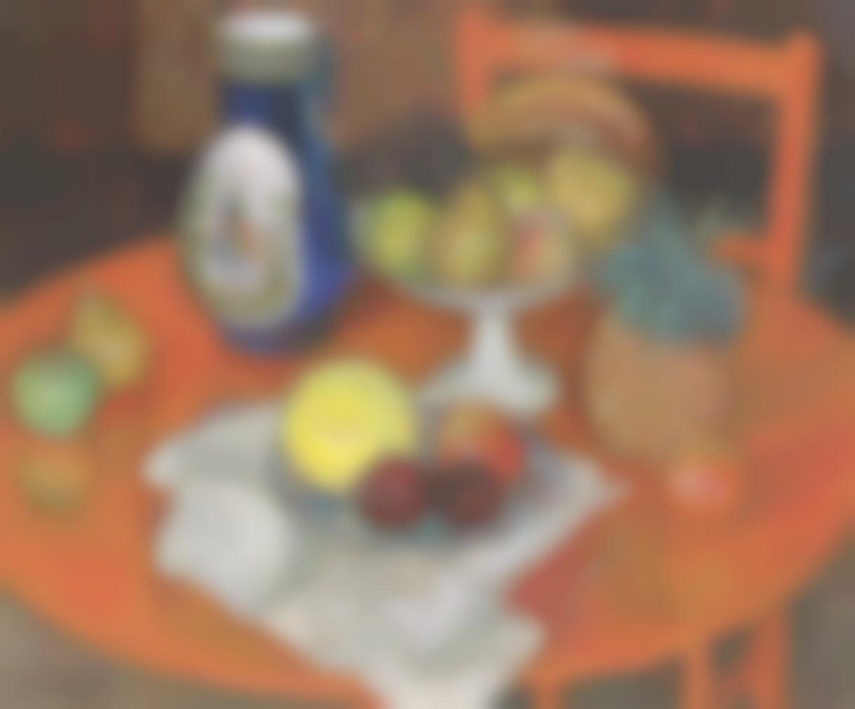 Leon De Smet-Nature Morte Au Panier De Fruits-