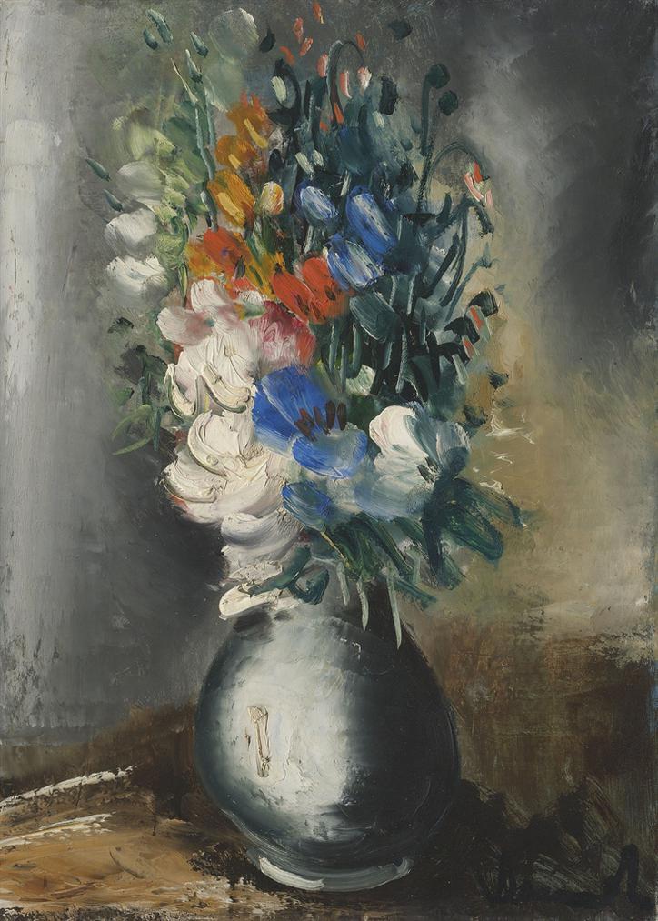 Maurice de Vlaminck-Vase De Fleurs-1930