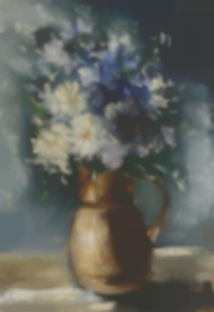 Maurice de Vlaminck-Fleurs Dans Une Cruche-