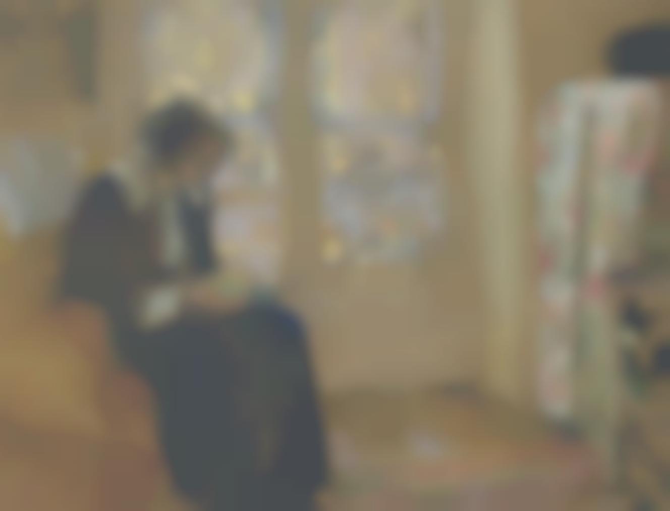 Edouard Vuillard-Jeune Femme Lisant, Lucie Belin Chez Elle-1916