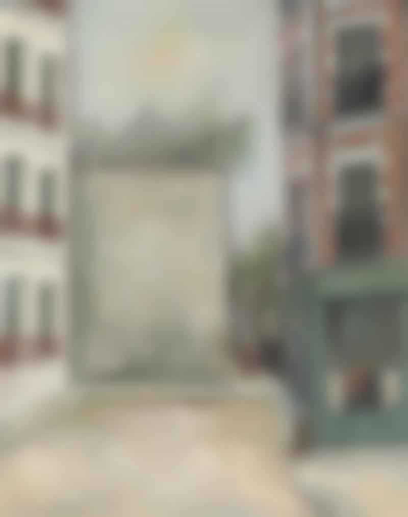 Maurice Utrillo-La Belle Gabrielle, Rue Saint-Vincent, Montmartre-1916