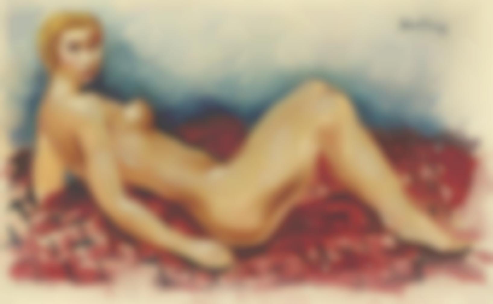 Moise Kisling-Nu Allongee-1929