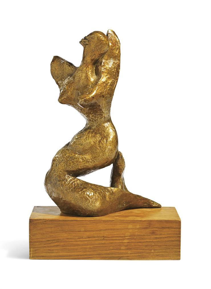 Henri Laurens-La Sirene (Petite)-1945