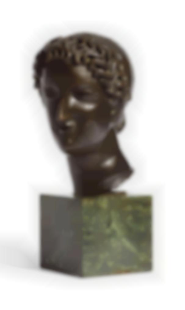 Elie Nadelman - Head Of A Woman-1913