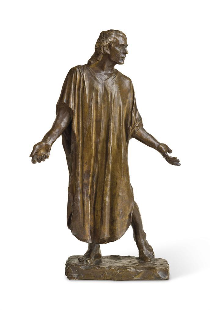 Auguste Rodin-Lun Des Bourgeois De Calais: Jean De Fiennes, Vetu, Reduction-1895