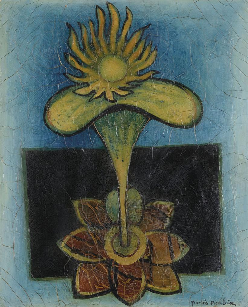 Francis Picabia-La Fleur-1936