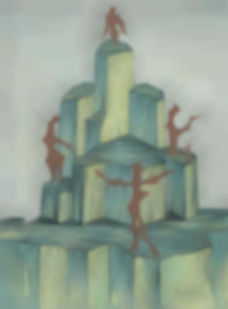 Man Ray-La Montagne En Verre-1950
