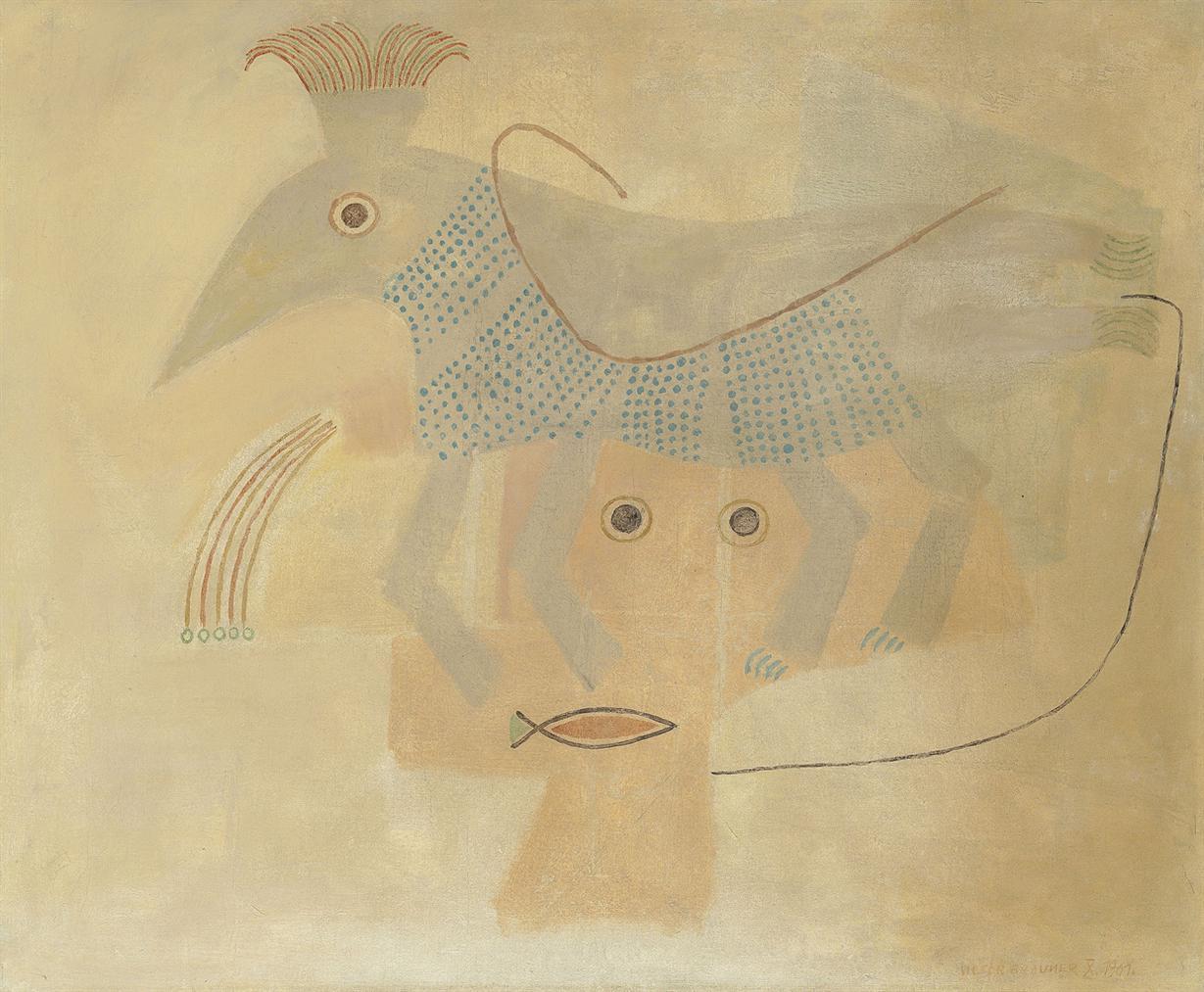 Victor Brauner-Symboles Endospagirique-1961