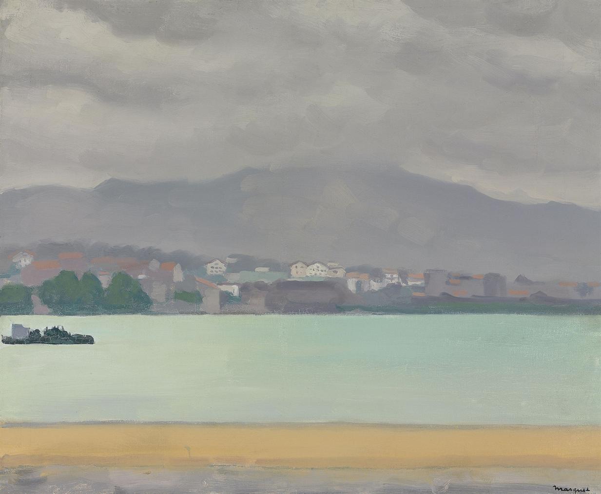 Albert Marquet-Temps Bouche A Hendaye-1926