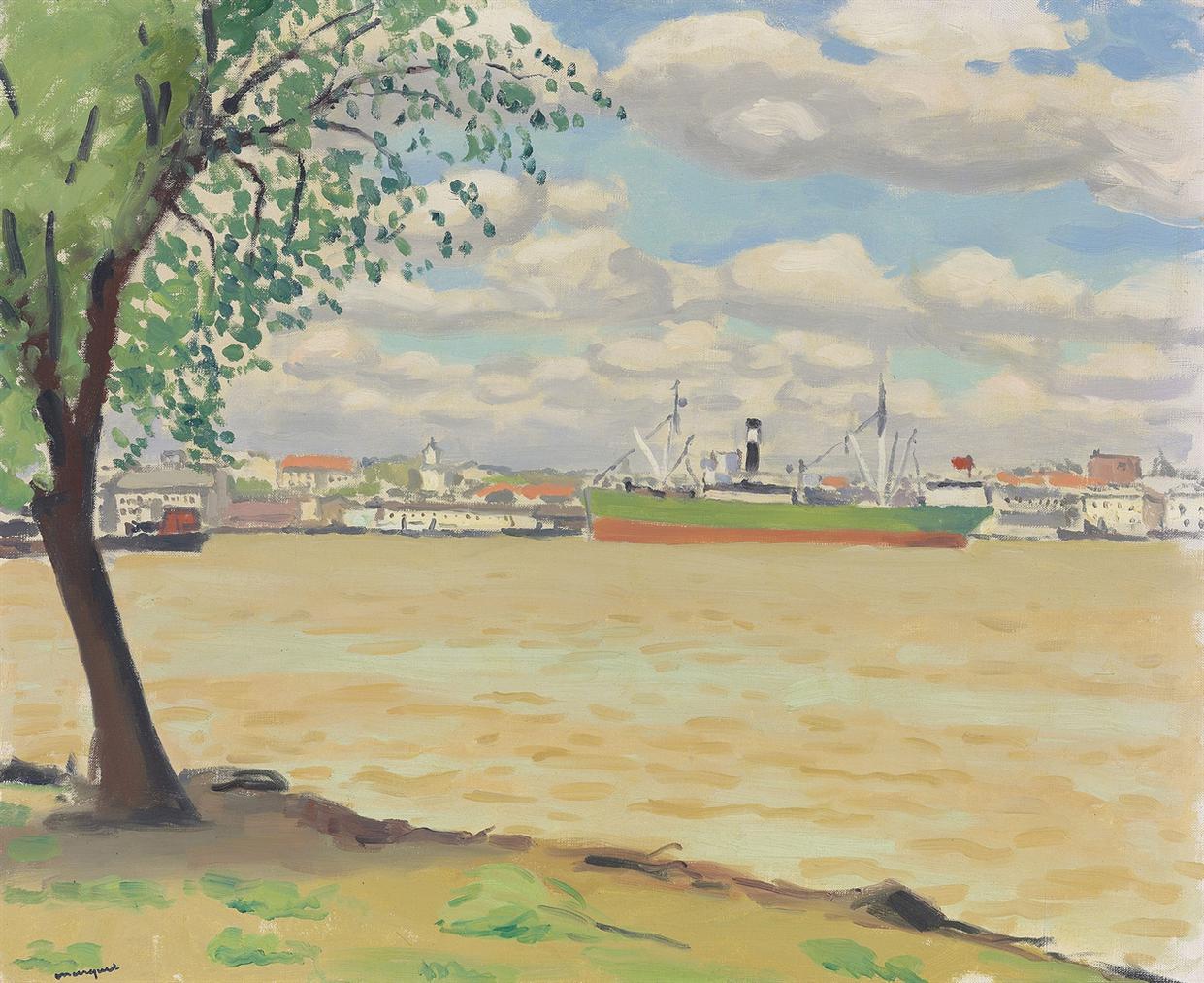 Albert Marquet-Le Danube A Galatz-1933
