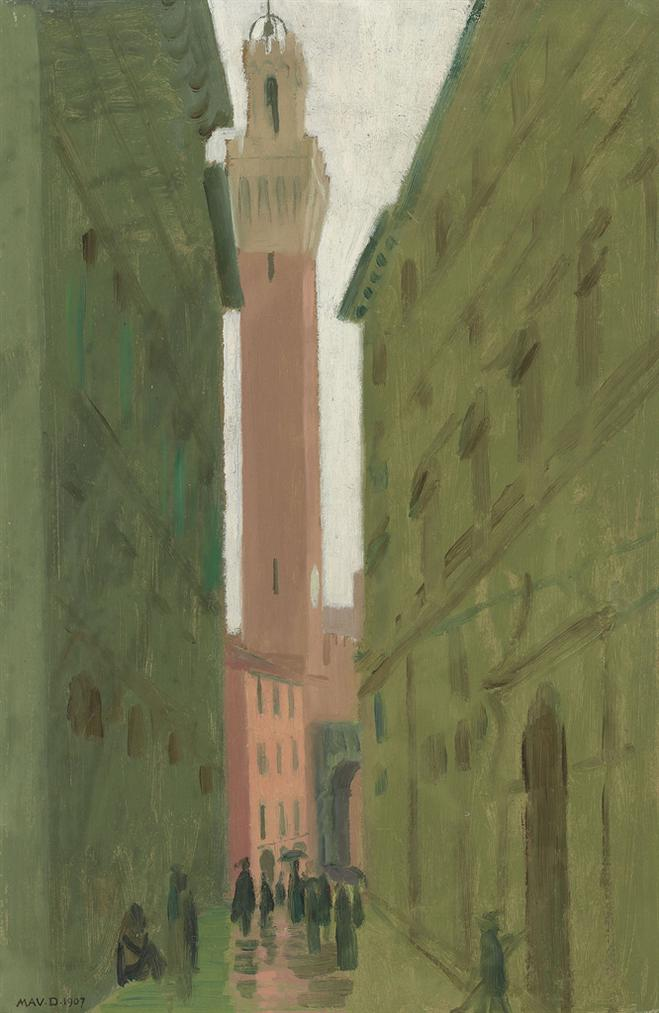 Maurice Denis-La Mangia, Sienne-1907