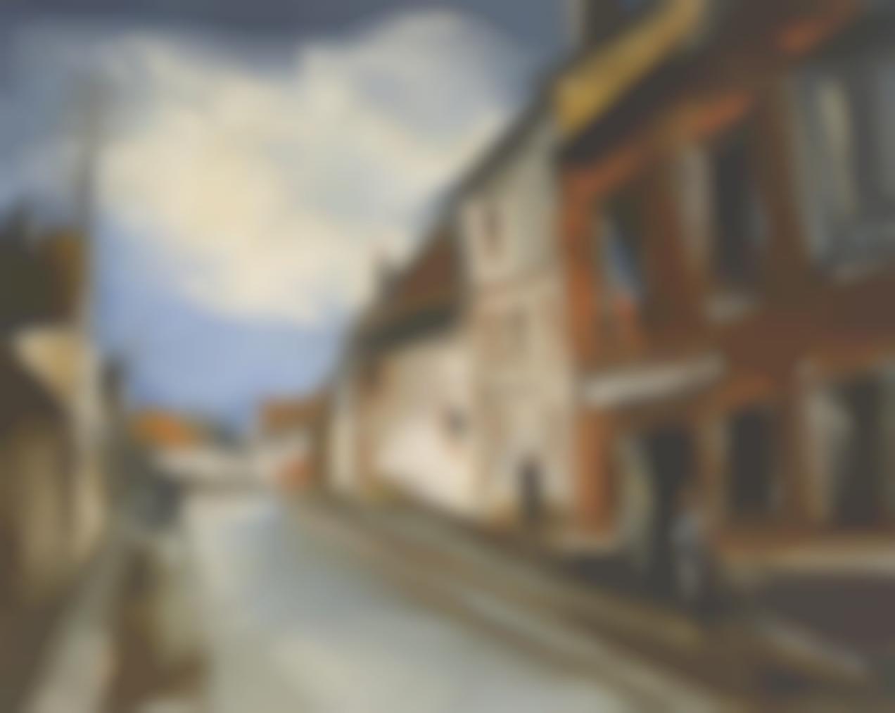 Maurice de Vlaminck-Rue De Village-