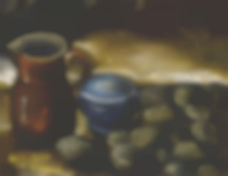 Maurice de Vlaminck-Nature Morte, Cruche Et Pommes De Terre-