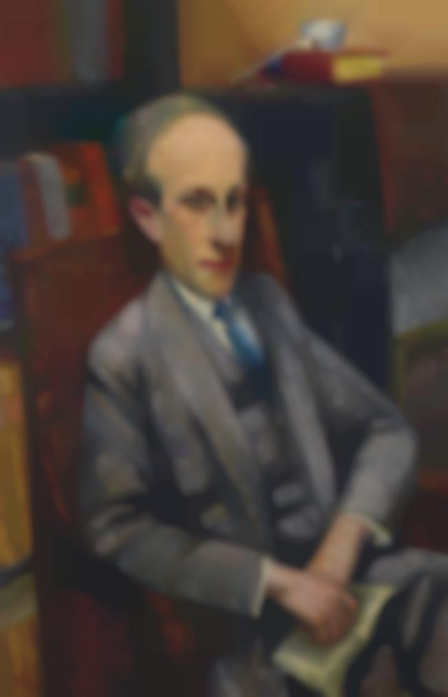 Louis Marcoussis-Portrait De Ronald Davis-1924