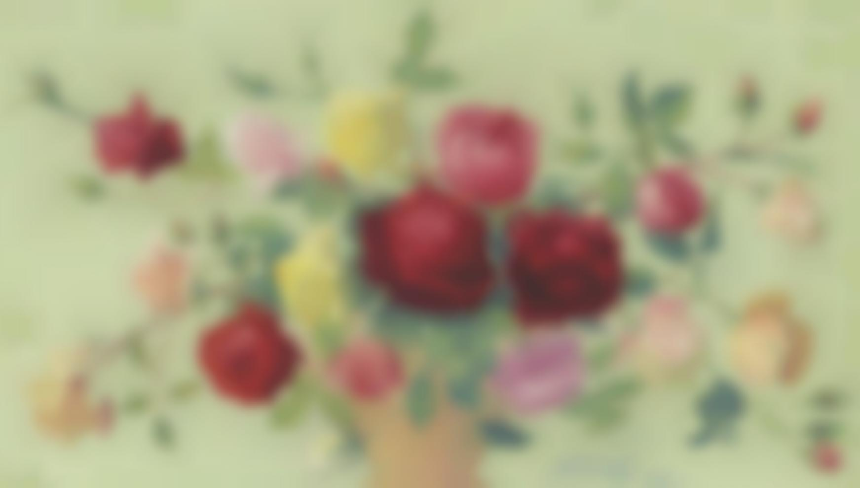 Achille Lauge-Bouquet De Roses-1918