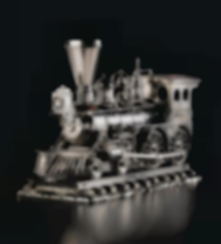 Jeff Koons-Jim Beam - J.B. Turner Engine-1986