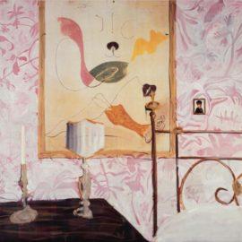 Albert Oehlen-Schlafzimmer (Bedroom)-2004