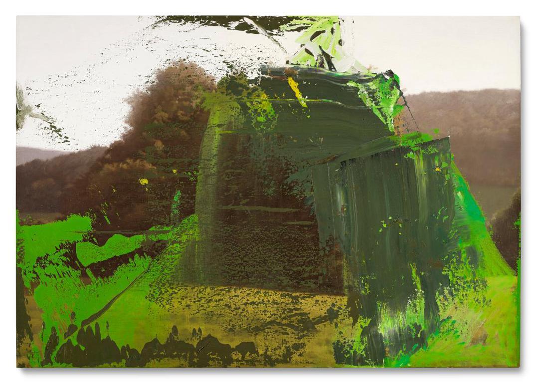 Gerhard Richter-Baumgruppe (Grove Of Trees)-1987