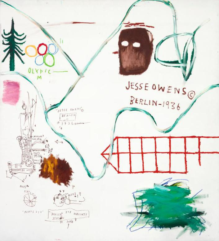 Jean-Michel Basquiat-Big Snow-