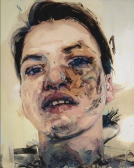 Jenny Saville-Shadow Head-2013
