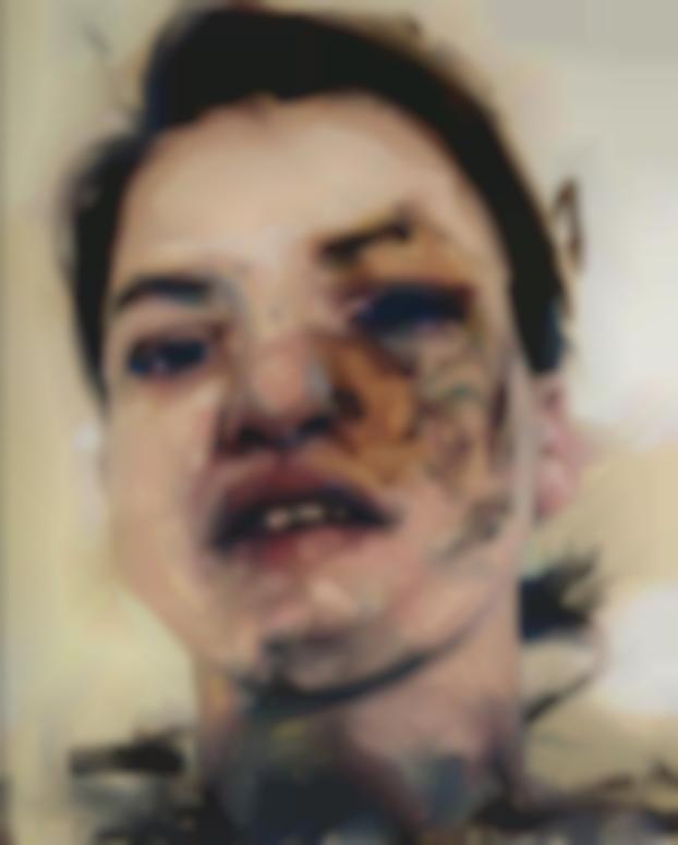 Jenny Saville-Shadow Head-2013