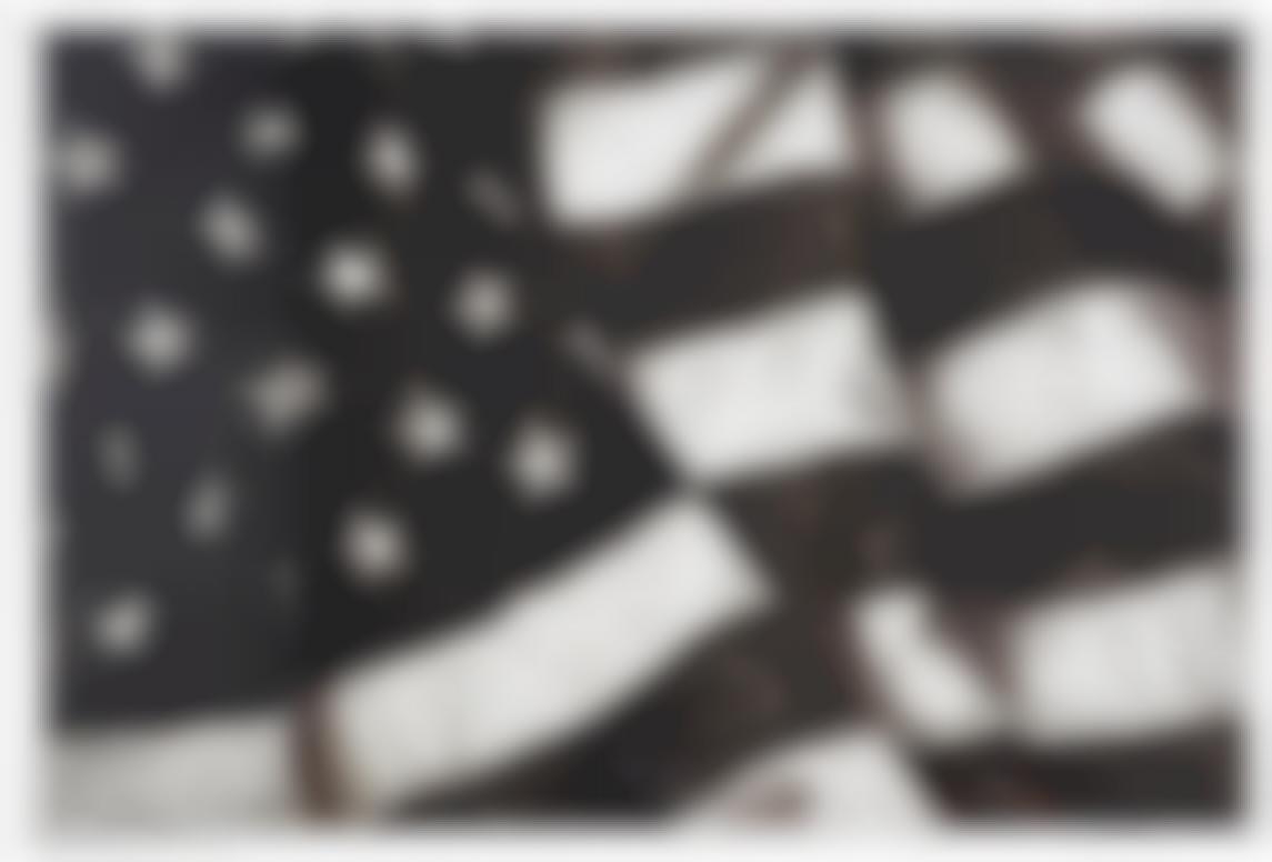 Robert Longo-Study For Flag X-24-2012
