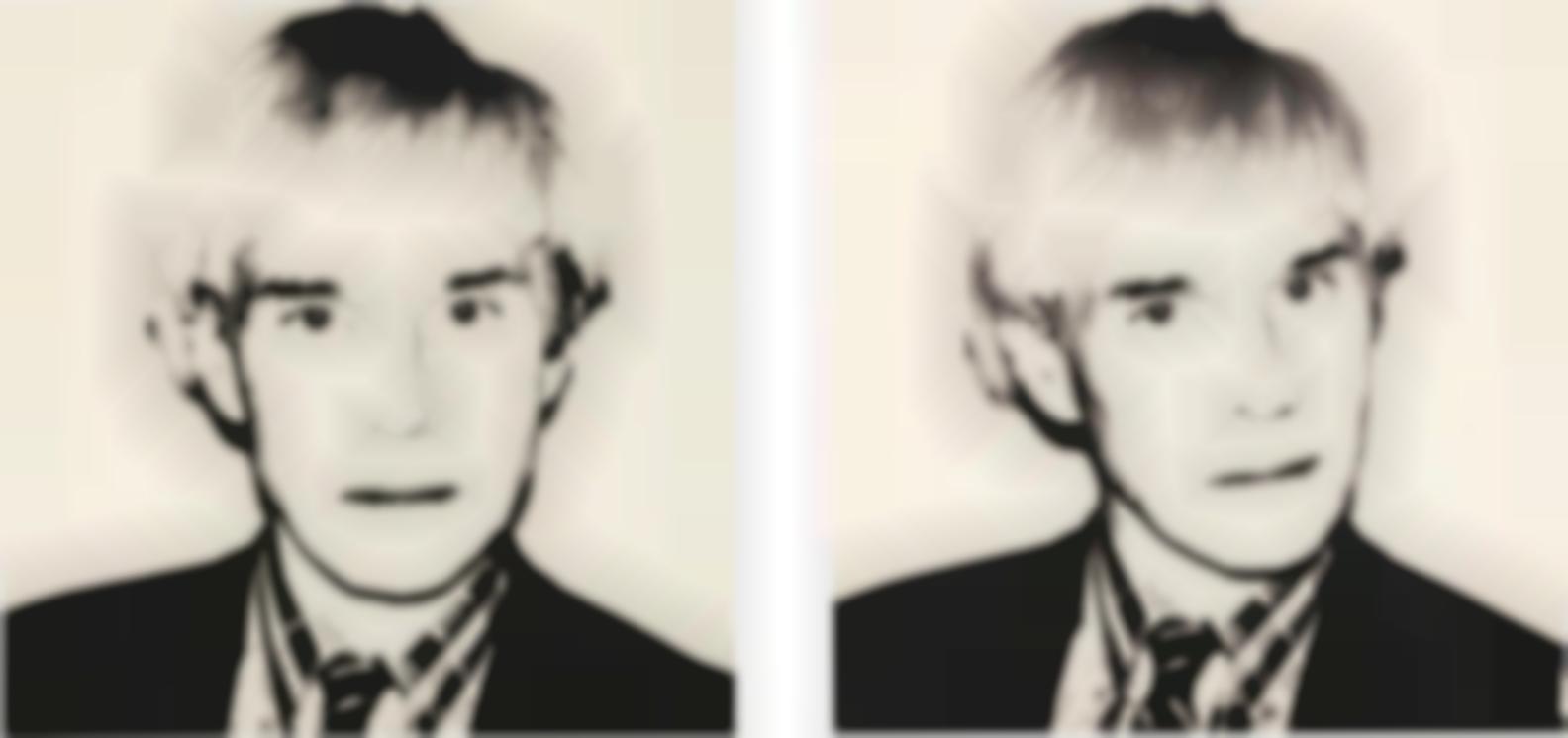 Andy Warhol-Self Portrait (Pair)-1982