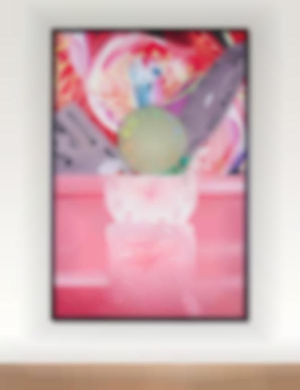 James Rosenquist-Time Stops But The Clock Disappears-2008