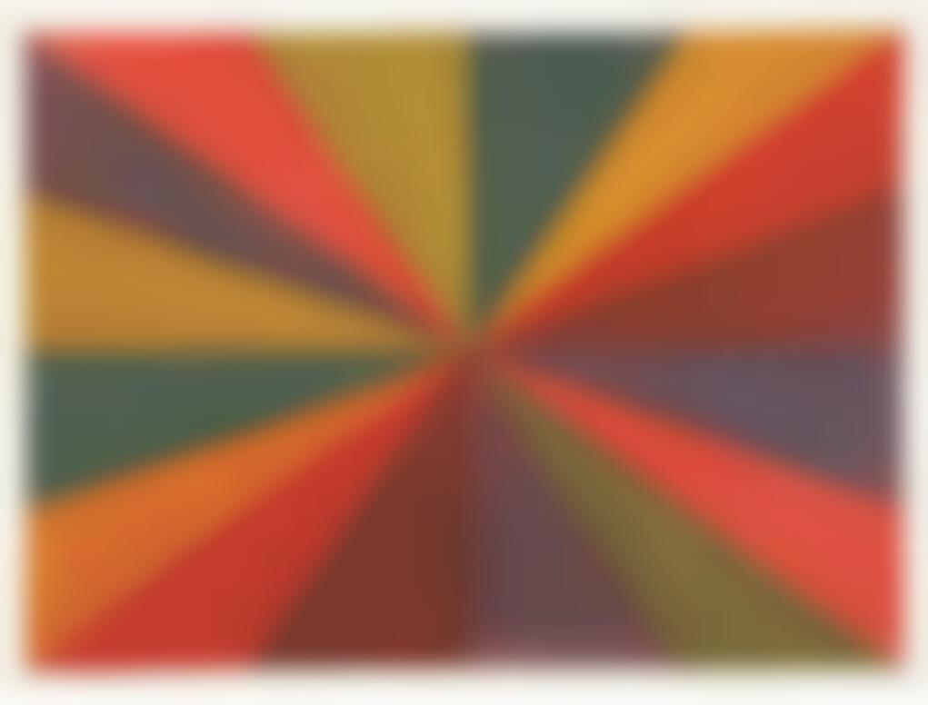 Sol LeWitt-Colors From The Center-1987