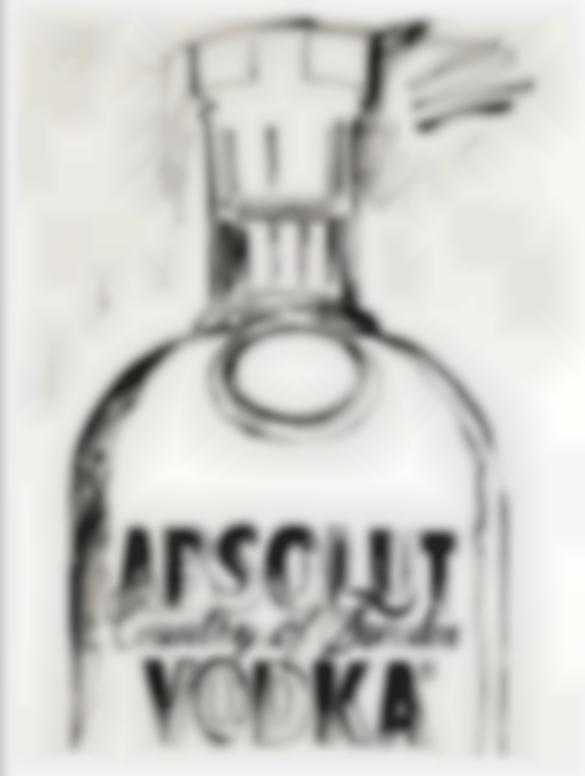Andy Warhol-Absolut Vodka-1985