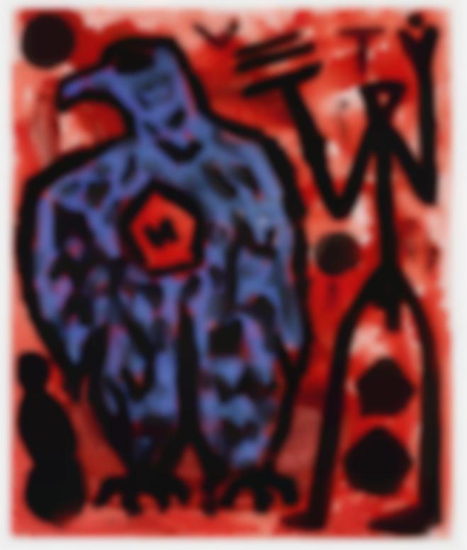 A.R. Penck-Behaupten Und Erkennen 2-1998