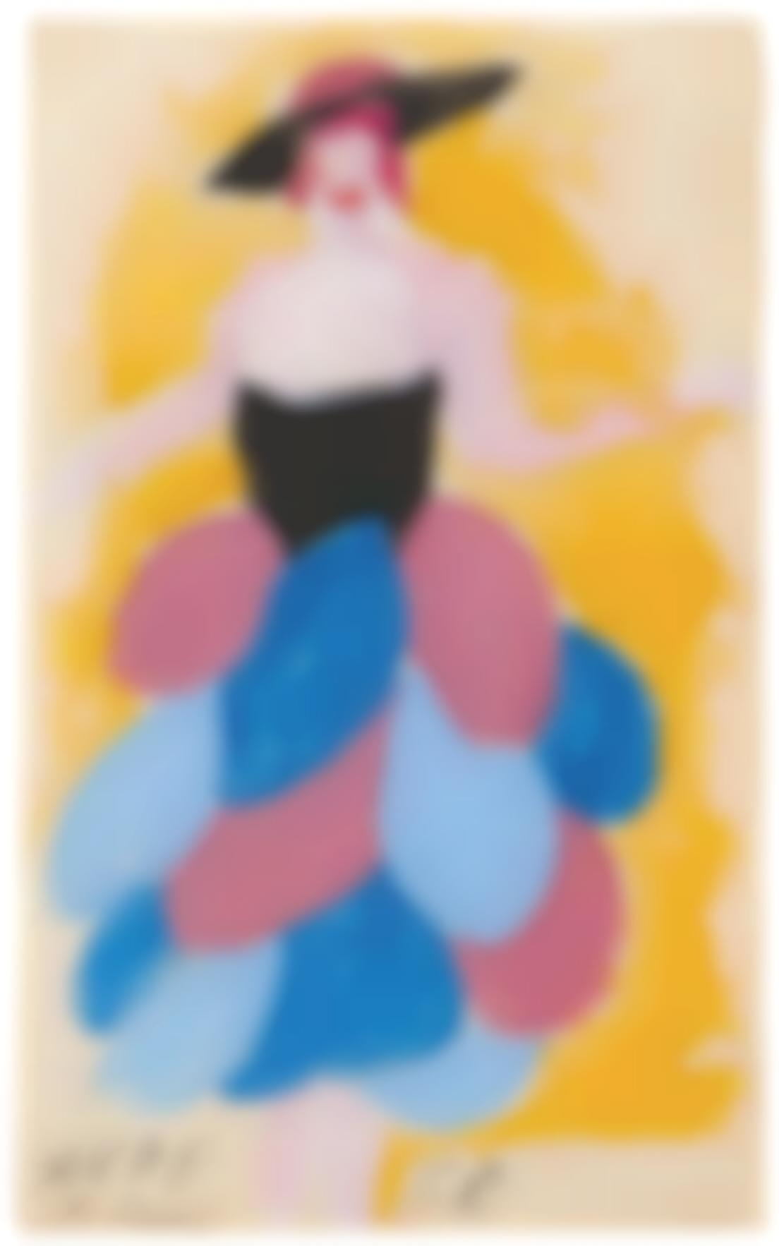Sonia Delaunay-Untitled (Fabric Project)-