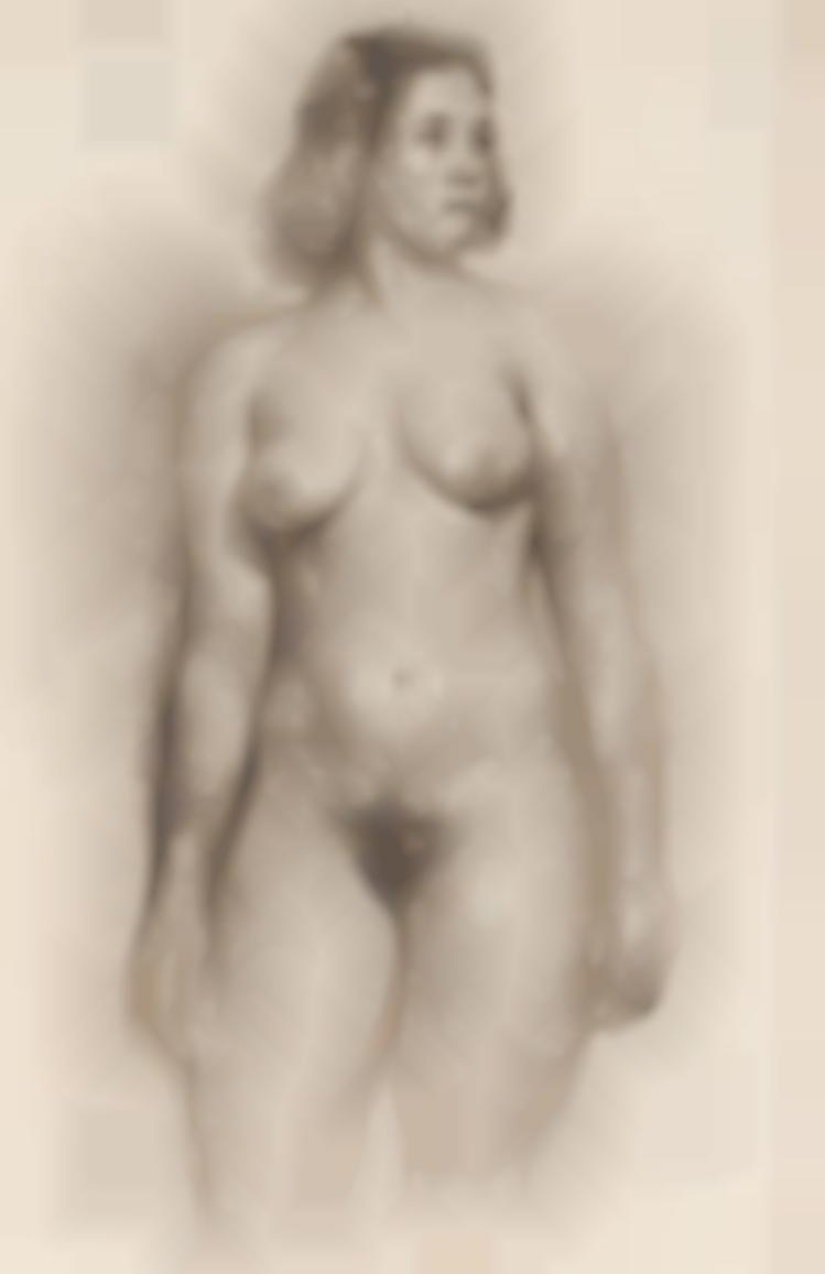 Antonio Carneiro - Female Nude-1916