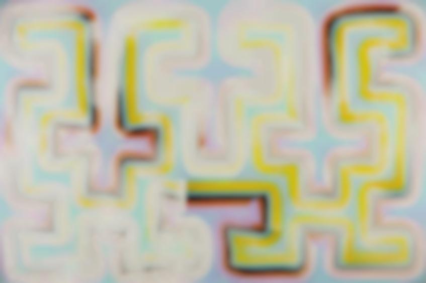 Bernard Frize-Untitled-1988