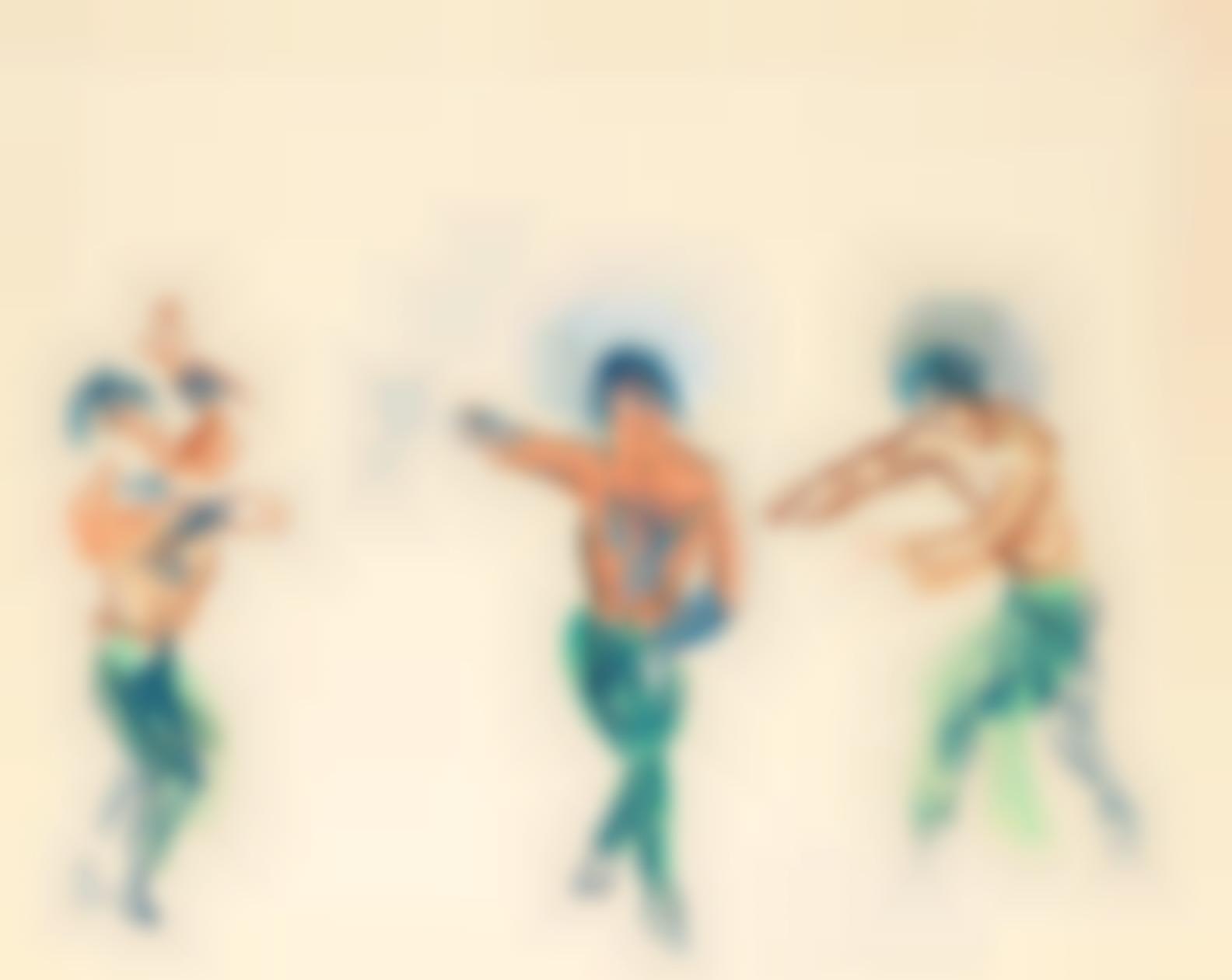 Raoul Dufy-Projet Pour Les Ballets De Monte-Carlo-