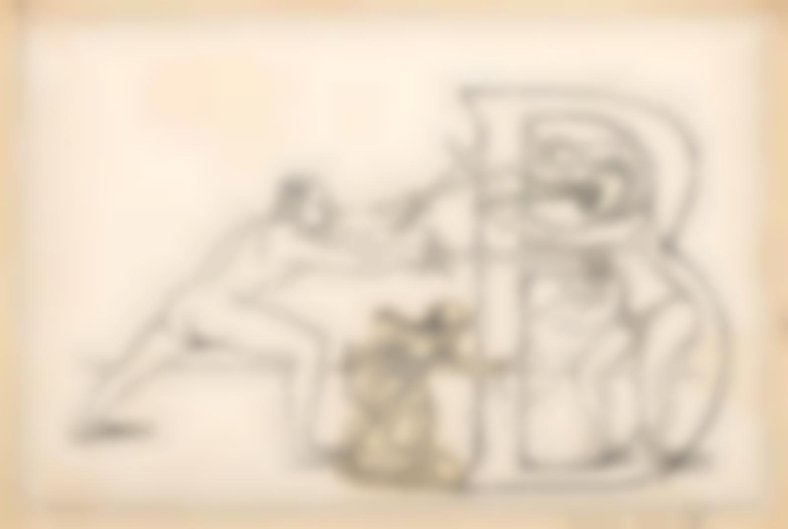 Max Ernst-Initiale B-1958