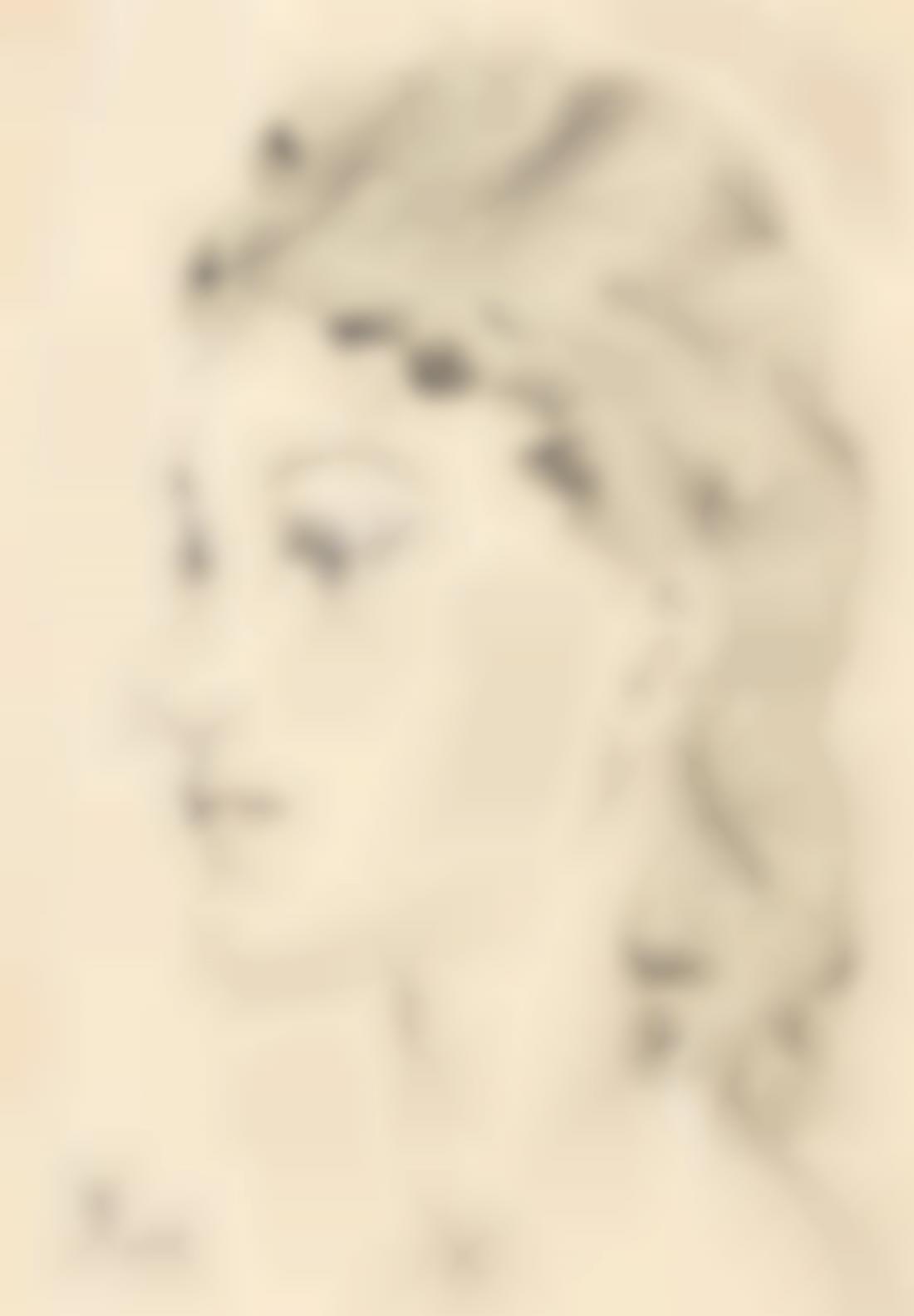 Tsuguharu Foujita-Portrait De Jeune Femme-1941