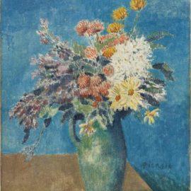 Pablo Picasso-Vase De Fleurs-1904
