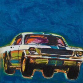 Richard Prince-Mustang Painting-2016