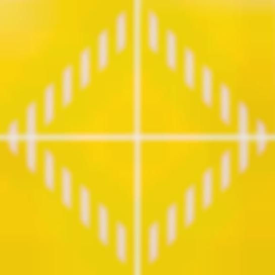 Daniel Buren-Pvc Giallo − Quatre Elements. Travail Situe-2003