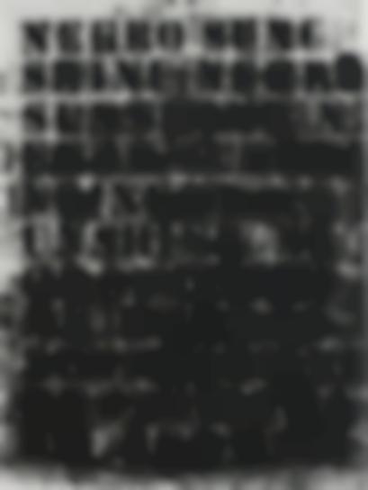Glenn Ligon-Negro Sunshine #54-2010