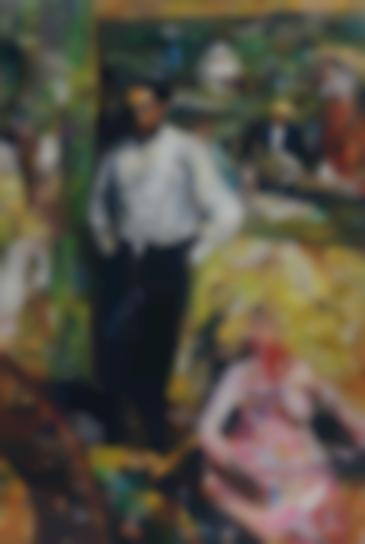 Vik Muniz-Man And Puppet, After Edgar Degas-2013