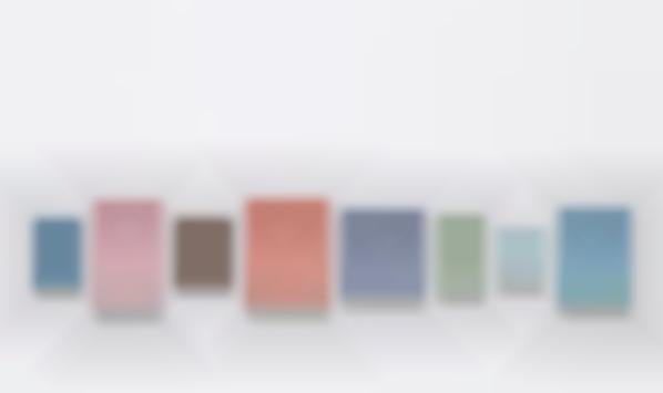 Allan McCollum-Collection Of 8 Plaster Surrogates-1989